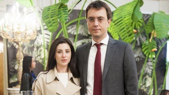 Супруга министра Омеляна будет владелицей самого шикарного автомобиля