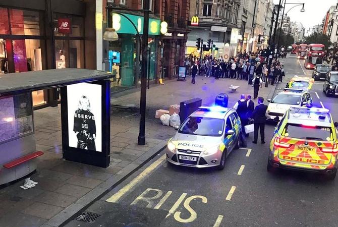Вцентре Лондона из-за короткого замыкания произошел взрыв