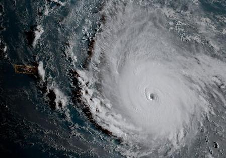NASA показало процесс формирования урагана «Мария»