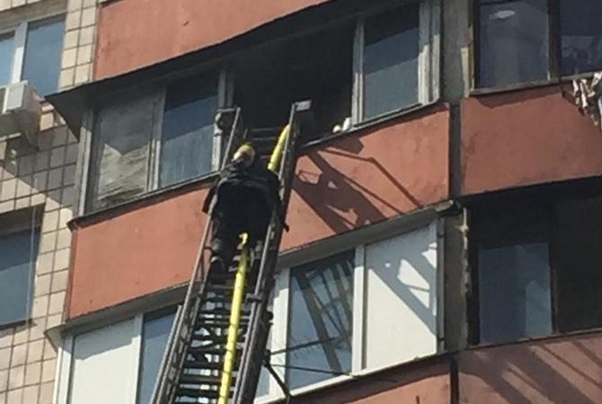 ВКиеве произошел пожар, есть пострадавшие, погиб ребенок