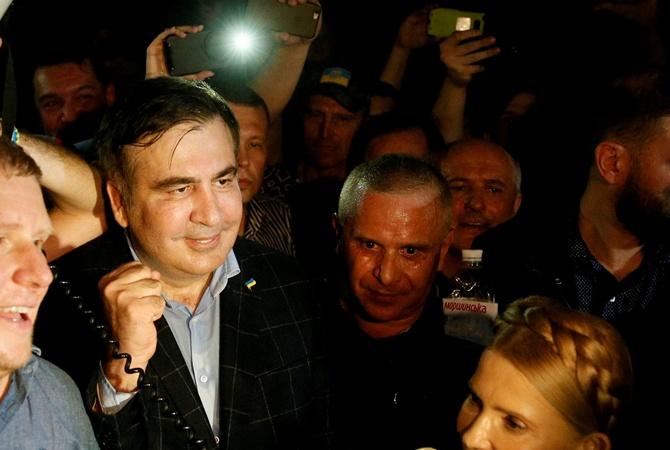 Сторонники Михаила Саакашвили помогли ему попасть натерриторию Украины