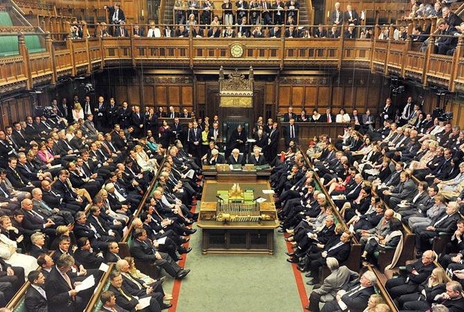 Парламент Британии принял билль об отмене законов ЕС Палата общин британского парламента