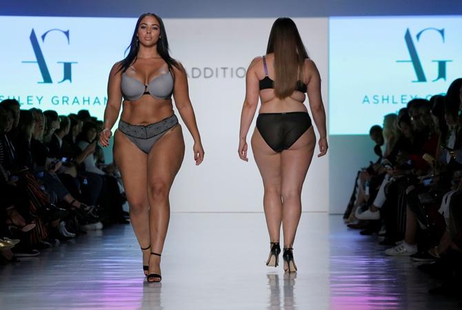 Фигура plus-size модели Эшли Грэм вызвала негодование фанатов