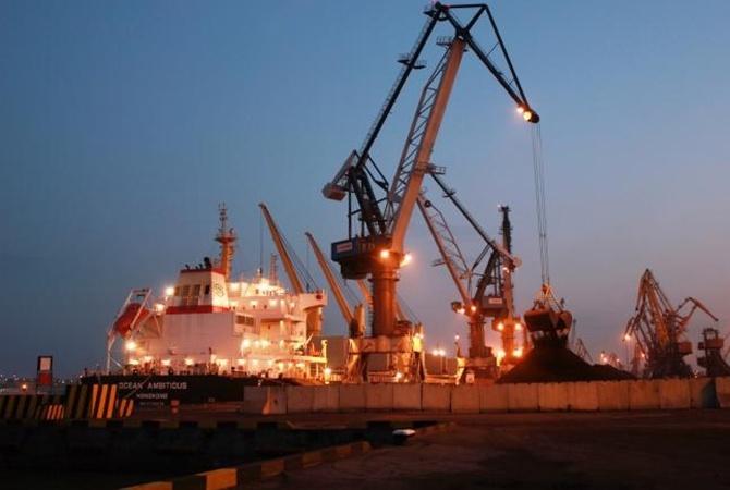 Очередное судно сантрацитом прибыло в Украинское государство