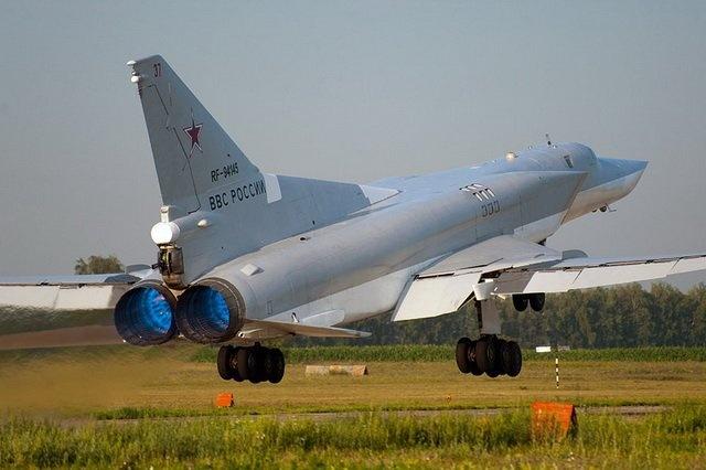 В Российской Федерации «самоуничтожился» стратегический ракетоносец-бомбардировщик Ту-22М3