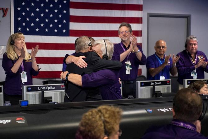 Профессионалы  NASA показали место уничтожения Cassini наСатурне