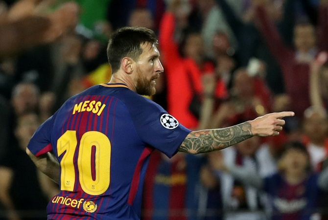 ЗаМесси договор с«Барселоной» подписал его отец