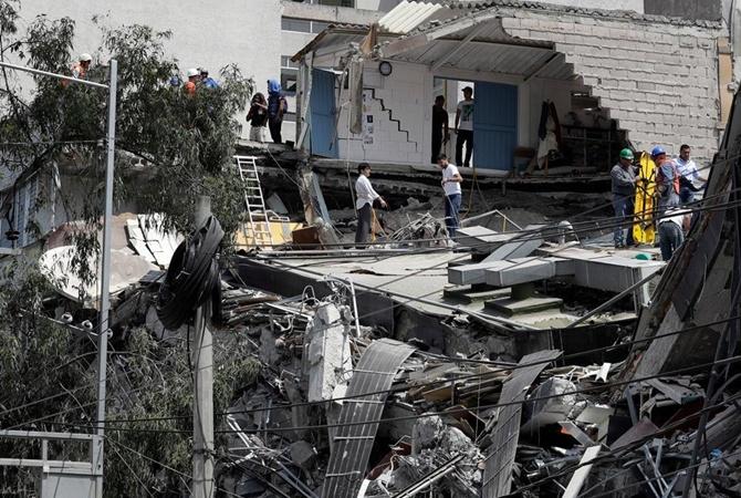 Матчи Кубка Мексики перенесены из-за землетрясения