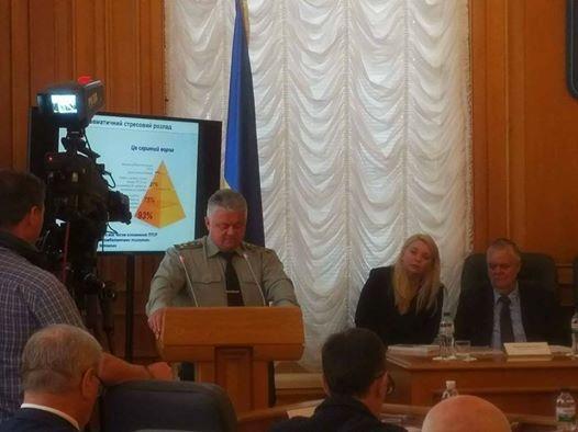 Основного военного психиатра Украины отстранили после слов обопасности силовиков