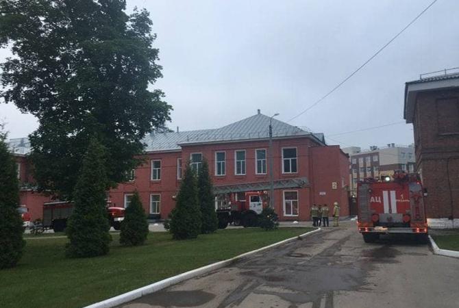 В России горела с больница с ковидными пациентами, погибли три человек