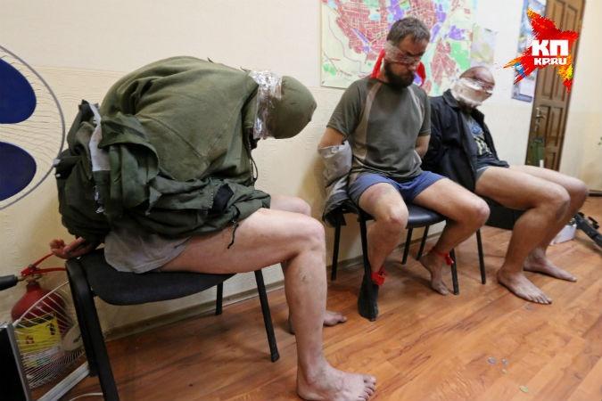 """""""Ты мужик, бл#дь, выходи. - Мужик ты, я - офицер!"""", - одесские морпехи """"остудили"""" пыл сепаратистов - Цензор.НЕТ 7057"""