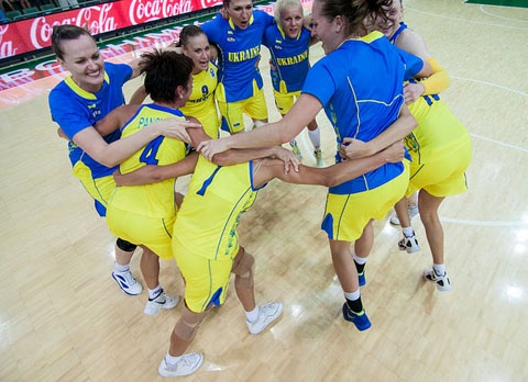 Украинские баскетболистки досрочно пробились на Евро-2015