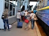 Мариупольчане на киевском вокзале:  Первыми из города сбежали бизнесмены