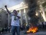 Активисты  финансового Майдана :  О нас вспоминают, лишь когда начинают шины гореть