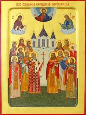 Вскоре в этой иконе появится образ Калнышевского.