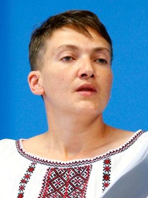 Надежда Савченко. Фото: REUTERS