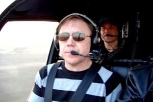 Евгения Зотова заставили посадить вертолет в зоне.