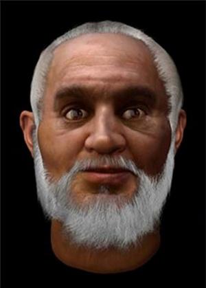 Реконструкция лица святого Николая.