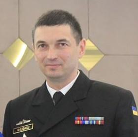 Юрий Федаш, ныне капитан 2-го ранга, командовавший