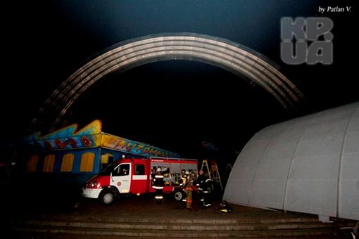 ЧП произошло возле арки Дружбы народов. Фото: Владимир Патлан.