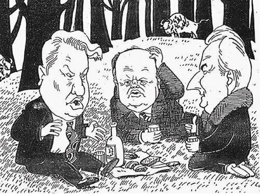 Карикатура из журнала
