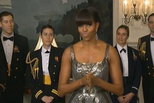 Мишель Обама выступила с небольшой речью, а затем назвала фильмом года