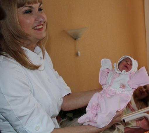 Девочку назвали Соней. Фото: пресс-служба горсовета