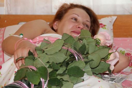 Мама чувствует себя прекрасно. Фото: пресс-служба горсовета