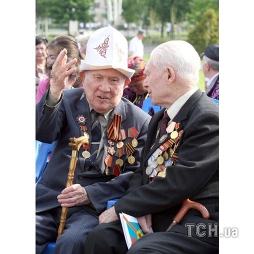 Киргизские ветераны. Фото ТСН
