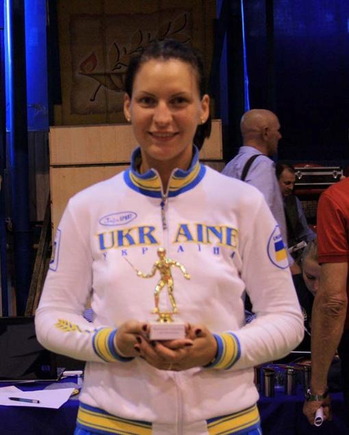 Теперь Анфиса настроена на победу в Чемпионате Европы. Фото: Национальная федерация фехтования Украины.