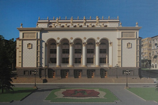 Между тем, что есть и замыслом архитекторов – годы и миллионы гривен. Фото Константина БУНОВСКОГО