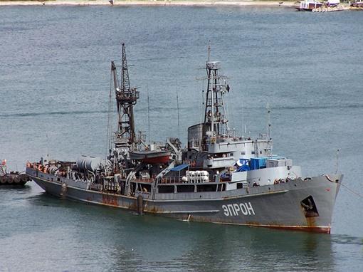 Спасательное судно ЧФ РФ