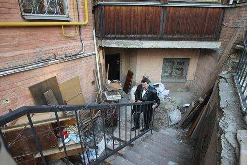 Подвал дома, из-за которого люди судятся. Фото УНИАН