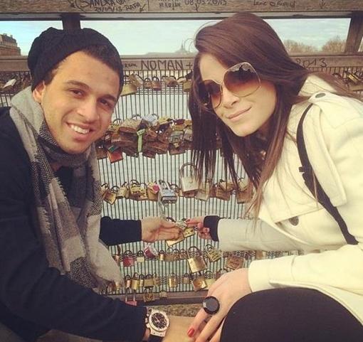 Пара планирует в скором времени пожениться и уже оставила замок на мосту влюбленных, фото: instagram.com