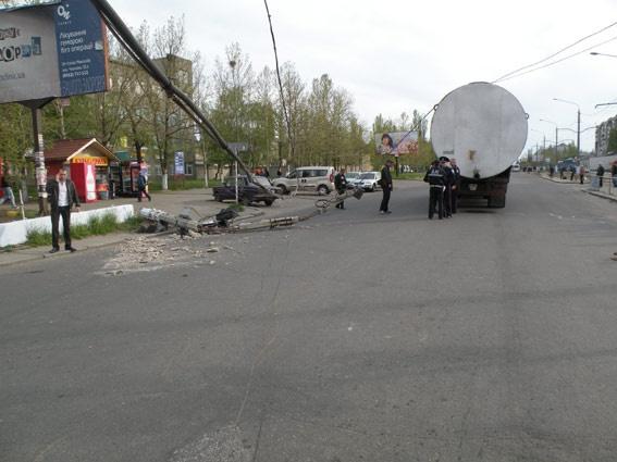 Водитель ГАИ не предупредил. Фото: mikdai.gov.ua