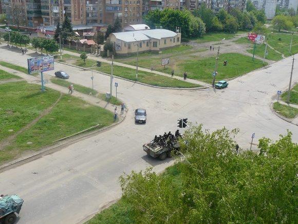 Краматорск опустел. Фото: hi.dn.ua