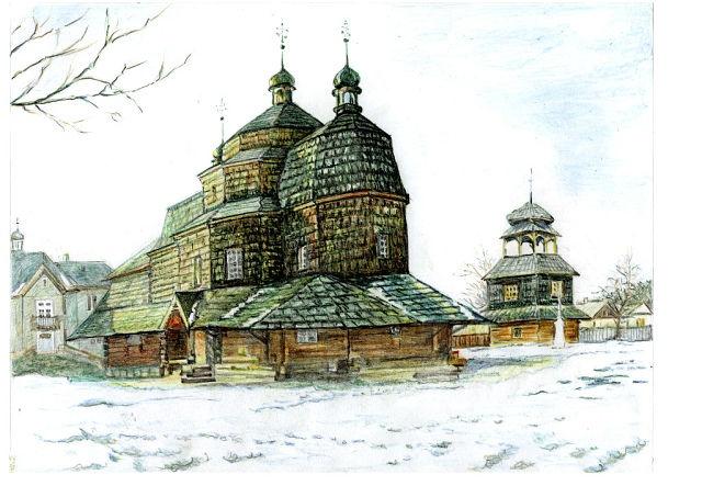 Работы Петра Захарова можно увидеть в школах, вузах, горсоветах Западной Украины. Фото: Архив Петра Захарова.