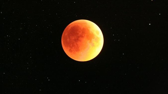 Красная Луна 28 сентября. Фото: ria.ru