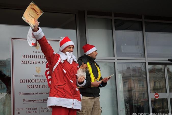 Лучший костюм Деда Мороза. Фото: Виталий Трубников