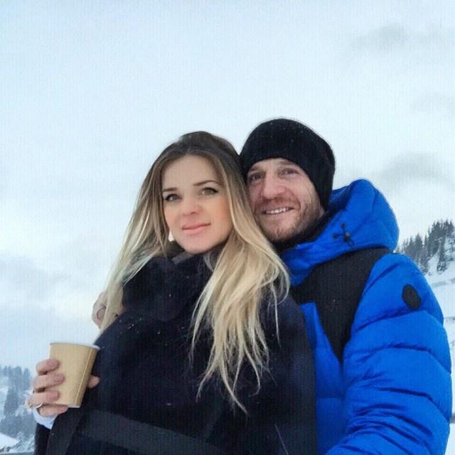 Сейчас Андрей и Юлия Воронины проводят праздники в Швейцарии. Фото: Instagram