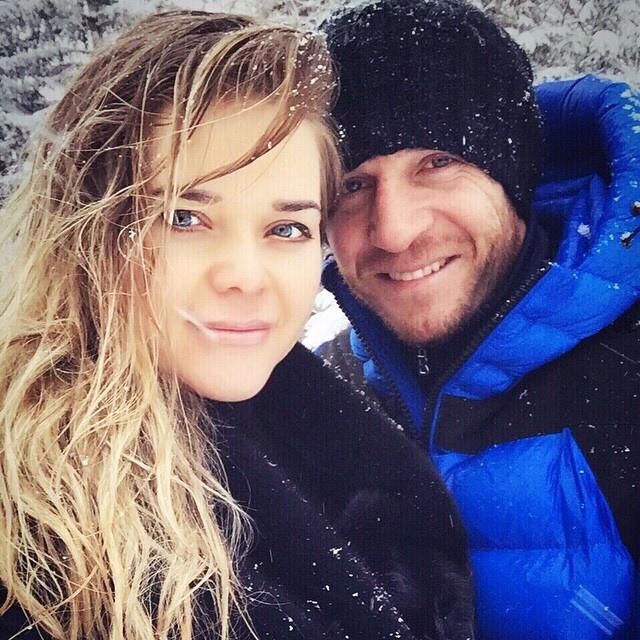 Андрей и Юля – очень красивая пара. Фото: Instagram