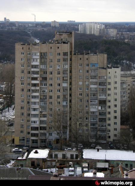 15-этажка, разработанная архитекторами в 1975 году.
