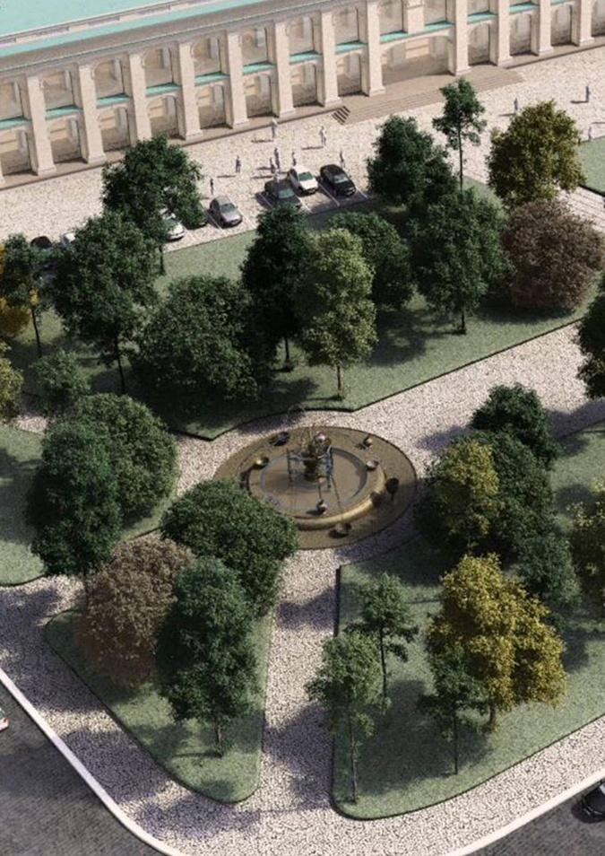 Ко Дню Киева в обновленном сквере будет