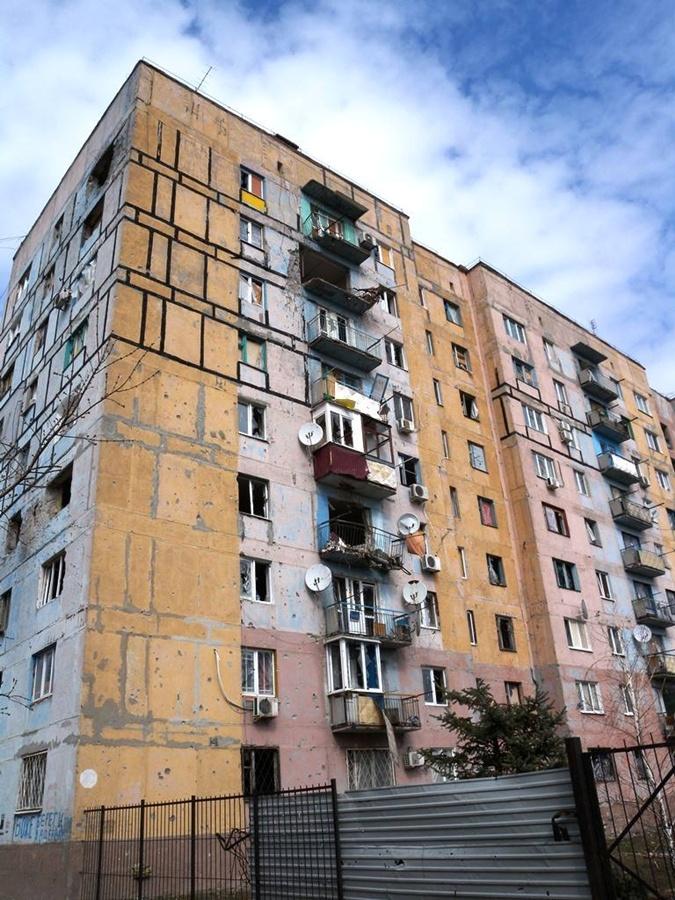 Что осталось от Авдеевки. Фото: пресс-центр АТО