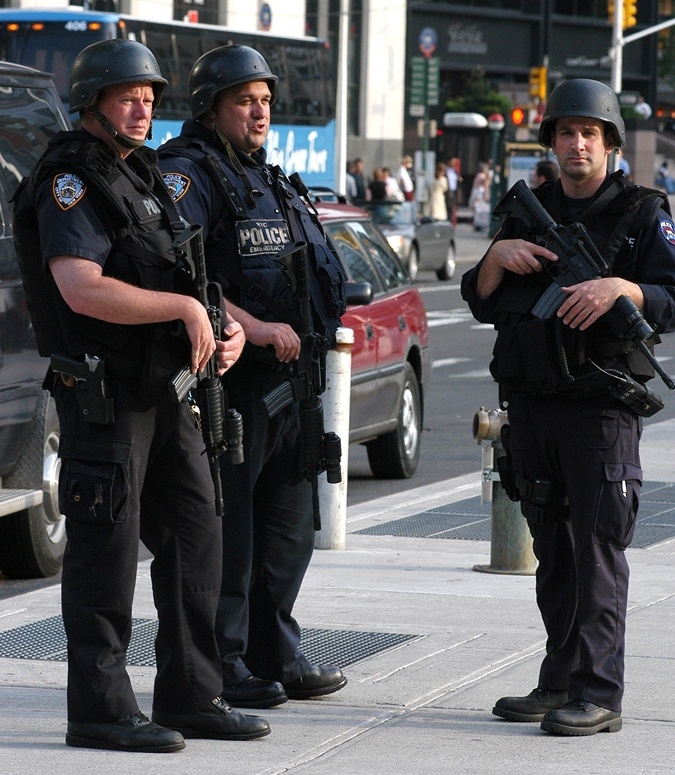 Украинские патрульные будут выглядеть, как полисмены Нью-Йорка.