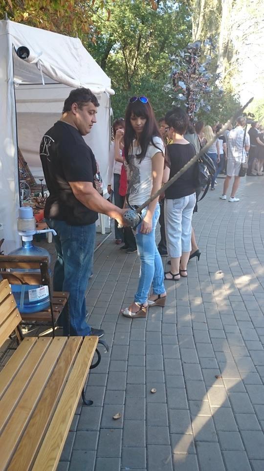 В городе прошел ежегодный фестиваль кузнечного искусства. Фото: соцсети
