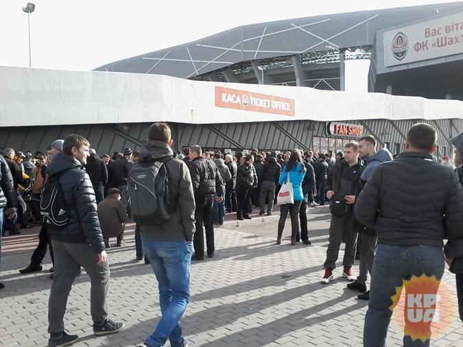 7 тысяч билетов, которые поступили в кассы стадиона, на всех желающих явно не хватит.