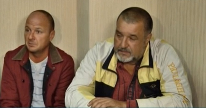 Николай Якименко и Сергей Бакаев (справа). Фото: Cкриншот 7kanal.com.ua