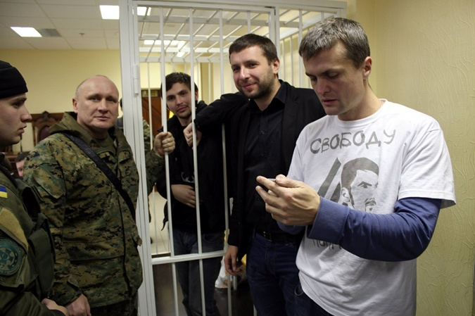 Тыцкий с Парасюком, Луценко и Николаем Коханивским.