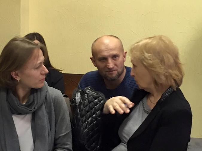 Кравчук, прославившийся после драки с Добкиным, пришел поддержать своего